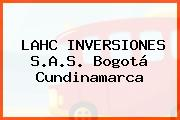 LAHC INVERSIONES S.A.S. Bogotá Cundinamarca