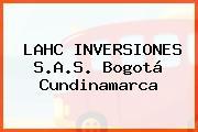 LAHC INVERSIONES S.A.S. Bogotá Cundinamarca