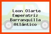 Leon Olarte Emperatriz Barranquilla Atlántico