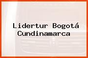 Lidertur Bogotá Cundinamarca