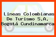 Lineas Colombianas De Turismo S.A. Bogotá Cundinamarca