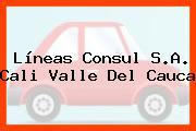 Líneas Consul S.A. Cali Valle Del Cauca