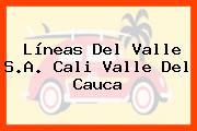 Líneas Del Valle S.A. Cali Valle Del Cauca