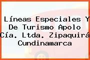 Líneas Especiales Y De Turismo Apolo Cía. Ltda. Zipaquirá Cundinamarca
