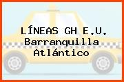 LÍNEAS GH E.U. Barranquilla Atlántico