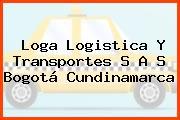 Loga Logistica Y Transportes S A S Bogotá Cundinamarca