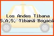 Los Andes Tibana S.A.S. Tibaná Boyacá