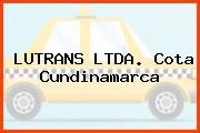 LUTRANS LTDA. Cota Cundinamarca