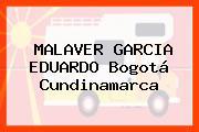 MALAVER GARCIA EDUARDO Bogotá Cundinamarca