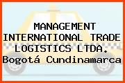 MANAGEMENT INTERNATIONAL TRADE LOGISTICS LTDA. Bogotá Cundinamarca