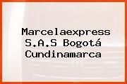 Marcelaexpress S.A.S Bogotá Cundinamarca