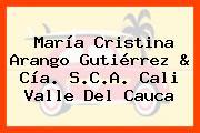 María Cristina Arango Gutiérrez & Cía. S.C.A. Cali Valle Del Cauca