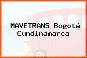 MAVETRANS Bogotá Cundinamarca