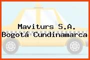 Maviturs S.A. Bogotá Cundinamarca