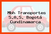 Mbh Transportes S.A.S. Bogotá Cundinamarca
