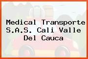 Medical Transporte S.A.S. Cali Valle Del Cauca