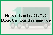 Mega Taxis S.A.S. Bogotá Cundinamarca