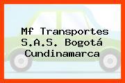 Mf Transportes S.A.S. Bogotá Cundinamarca