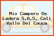 Mio Campero De Ladera S.A.S. Cali Valle Del Cauca