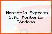 Montería Express S.A. Montería Córdoba