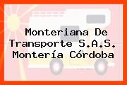 Monteriana De Transporte S.A.S. Montería Córdoba