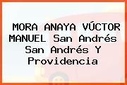 MORA ANAYA VÚCTOR MANUEL San Andrés San Andrés Y Providencia