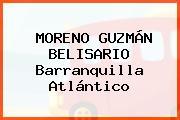 MORENO GUZMÁN BELISARIO Barranquilla Atlántico