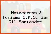 Motocarros & Turismo S.A.S. San Gil Santander