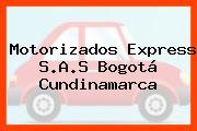 Motorizados Express S.A.S Bogotá Cundinamarca