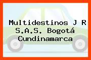 Multidestinos J R S.A.S. Bogotá Cundinamarca