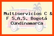 Multiservicios C & F S.A.S. Bogotá Cundinamarca