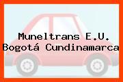 Muneltrans E.U. Bogotá Cundinamarca