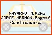 NAVARRO PLAZAS JORGE HERNAN Bogotá Cundinamarca