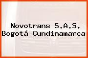 Novotrans S.A.S. Bogotá Cundinamarca
