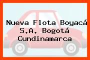 Nueva Flota Boyacá S.A. Bogotá Cundinamarca