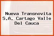 Nueva Transnovita S.A. Cartago Valle Del Cauca