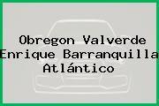 Obregon Valverde Enrique Barranquilla Atlántico