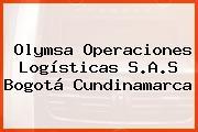 Olymsa Operaciones Logísticas S.A.S Bogotá Cundinamarca