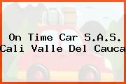 On Time Car S.A.S. Cali Valle Del Cauca