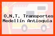O.N.T. Transportes Medellín Antioquia