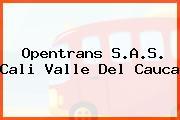 Opentrans S.A.S. Cali Valle Del Cauca