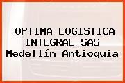 OPTIMA LOGISTICA INTEGRAL SAS Medellín Antioquia