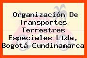 Organización De Transportes Terrestres Especiales Ltda. Bogotá Cundinamarca