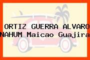 ORTIZ GUERRA ALVARO NAHUM Maicao Guajira