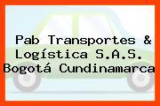 Pab Transportes & Logística S.A.S. Bogotá Cundinamarca