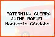 PATERNINA GUERRA JAIME RAFAEL Montería Córdoba