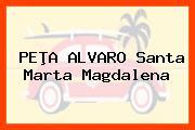 PEÞA ALVARO Santa Marta Magdalena
