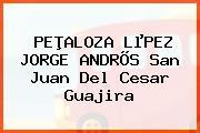 PEÞALOZA LµPEZ JORGE ANDRÕS San Juan Del Cesar Guajira