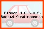 Planes H.G S.A.S. Bogotá Cundinamarca