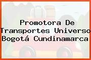 Promotora De Transportes Universo Bogotá Cundinamarca